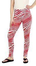 Zubaz MLB Women's St Louis Cardinals Team Color Tiger Print Leggings Pants