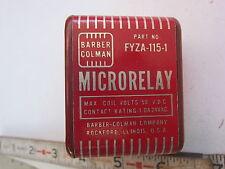 Barber Colman FYZA-115-1 8-Pin Micro Relay, Used