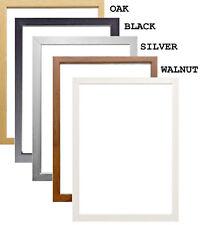 Poster Frame A1 A2 A3 A4 A5 Picture Frame Photo Frame Black Oak White All Sizes