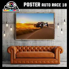 POSTER QUADRO AUTO RACE 10 RALLY PARIS DAKAR MOTO FOTOGRAFICA 35x50 50x70 70x100