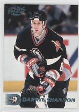 1998-99 Pacific Ice Blue #109 Darryl Shannon Buffalo Sabres Hockey Card
