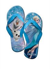 Disney Frozen Die Eiskönigin Flip Flops Strandschuhe Sandalen Badeschuhe NEU