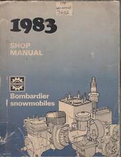 1983 SKI-DOO & MOTO-SKI SNOWMOBILE SHOP MANUAL