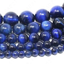 Blue Tiger Eye Beads Round 4mm 6mm 8mm 10mm 12mm 15.5