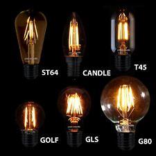 Filamento Bombillas LED Edison Vintage Antiguo Decorativo estándar industrial