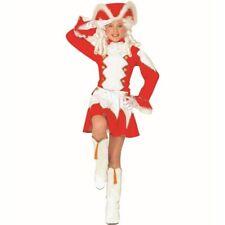 Dancing Mariechen Costume Children Red-White Radio Majorettes Dress Garde