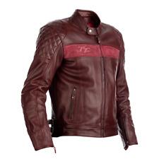 RST 102375 IOM TT Brandish CE Leather Motorcycle Motorbike Jacket - Oxblood