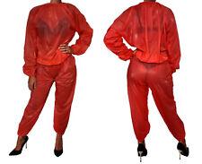 sexy soft PVC Pyjama Windelhose Schwitzanzug Saunaanzug Gummihose Saunahose