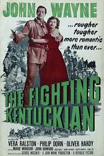 The Fighting Kentuckian (1949) John Wayne Cult Western movie poster print 2