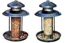 DELUXE STEEL LANTERN SHAPED WILD BIRDS SEED OR NUT FEEDER/BIRD FEEDING STATION