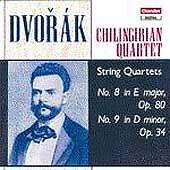 Dvorak: String Quartets Opp. 80 & 34 (CD, Feb-1990, Chandos)