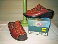SAS Tango Womens Chestnut Comfort Sandal - NEW IN BOX