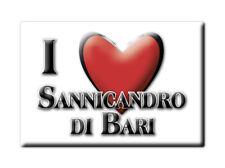 CALAMITA PUGLIA FRIDGE MAGNET MAGNETE SOUVENIR LOVE SANNICANDRO DI BARI (BA)