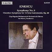 Enesco: Symphony no 3, Chamber Symphony / Ion Baciu (CD, Marco Polo)