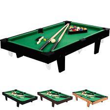 Mini Pool Billardtisch inkl. Zubehör, Maße: 92x52x19cm, Billard Billiard Spiel