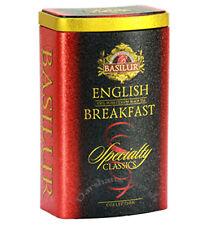 "BASILUR ""Specialty Classics"" Tin Caddies Earl Grey,Orange Pekoe,English Breakfas"