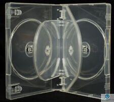 5 WAY DVD CHIARA 26 mm spina dorsale contiene 5 DISCHI VUOTI NUOVI sostituzione caso HQ AAA