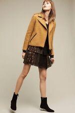 NWT Anthropologie Soho Mini Skirt by Harlyn, XS, M, XL, Pleated polka dots $158