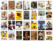 Steve McQueen Classic Movie Posters Great Escape Bullitt 40+OPTIONS BUY1GET2FREE