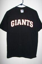 San Francisco Giants t shirt Majestic wordmark NWT