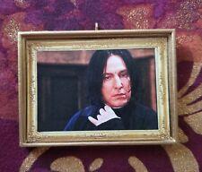 Severus Snape Christmas Handmade Ornament/Magnet/Dollhouse Mini Harry Potter