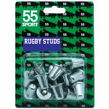55 sport aluminium rugby rivets BS6366 union ligue 15 18 21 mm 12 ou 16 pack