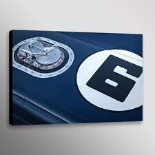 Vintage Penske Camaro TransAm Racecar Automotive Car Photo Wall Art Canvas Print