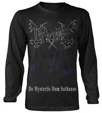 Mayhem 'De Mysteriis Dom Sathanas' Long Sleeve Shirt - NEW & OFFICIAL!