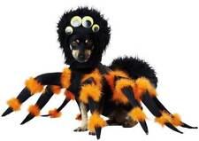 Fuzzy Spider Pet Dog Costume Fur Headpiece Attach Googgly Eyes Fury Legs