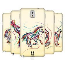 HEAD CASE DESIGNS COLOURFUL ANIMAL SCRIBBLES HARD BACK CASE FOR SAMSUNG PHONES 2