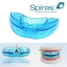 Dental Mouth Guard Bruxism Splint Night Teeth Tooth Grinding Sleep Aid Blue