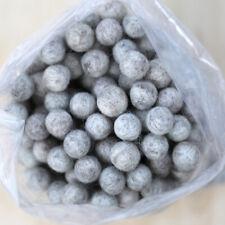 2.5cm LIGHT NATURAL MARBLE Felt Wool Balls - CHOOSE QUANTITY - handmade pom poms