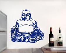 Dicker Buddha Wandtattoo Wandaufkleber XXXL Aufkleber  25 Farben 7 Größen