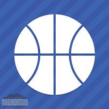 Basketball Vinyl Decal Sticker Hoops Ball B-Ball Sports