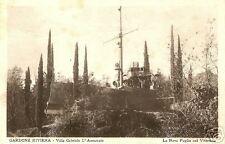 lago di garda gardone riviera gabriele d'annunzio nave