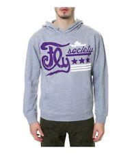 Fly Society Mens The Stars Stripes Hoodie Sweatshirt
