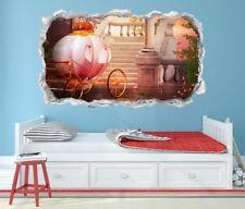 3D Wandtattoo Prinzessin Kinderzimmer Wand Aufkleber Wandbild Wohnzimmer 11P520