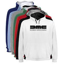 Sudadera Capucha Bicolor DMC DeLorean Motor Company Hombre tallas colores a006
