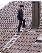 Dachleiter Kaminkehrerleiter Dachdeckerleiter Alu versch.Länge GÜNZBURGER Girse