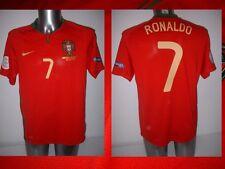 Portogallo Ronaldo Nike S L XL XXL 2008 MAGLIA JERSEY FOOTBALL SOCCER Real Madrid