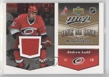 2006 Upper Deck MVP One on Dual Jerseys OJ-LF Andrew Ladd Tomas Fleischmann Card