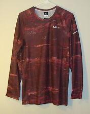 NWT Nike Men's LeBron Ultimate Elite Long Sleeve Tee Shirt Size S 2XLT 686156