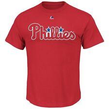 MLB Baseball PHILADELPHIA PHILLIES T-Shirt Wordmark von Majestic
