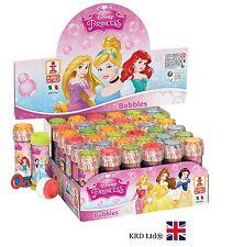 Disney PRINCESS Kids BUBBLE TUBS Princesses Party Favors Bag Fillers WAND + MAZE