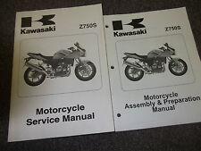2005 Kawasaki Z750S MOTORCYCLE Service Shop Repair Manual SET W Assembly Book