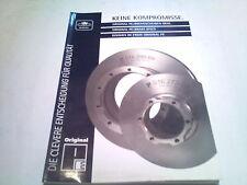Catálogo de piezas repuesto PE Discos freno NKW CAMIÓN