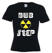 DUBSTEP TOXIC SYMBOL WOMEN'S T-SHIRT - Dub Step Drum & Bass Rave - Sizes S-XL