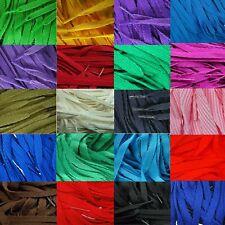 Tz laces 10mm Plat Coloré Lacets Chaussures de Souliers 31 Couleurs 8 Longueurs
