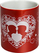 57462) Taza de café la Cerámica colección Ángel Amor Besos