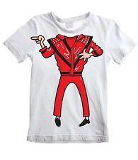 MICHAEL JACKSON KIDS UNISEX T-SHIRT - Fancy Dress Outfit Costume Funny Thriller